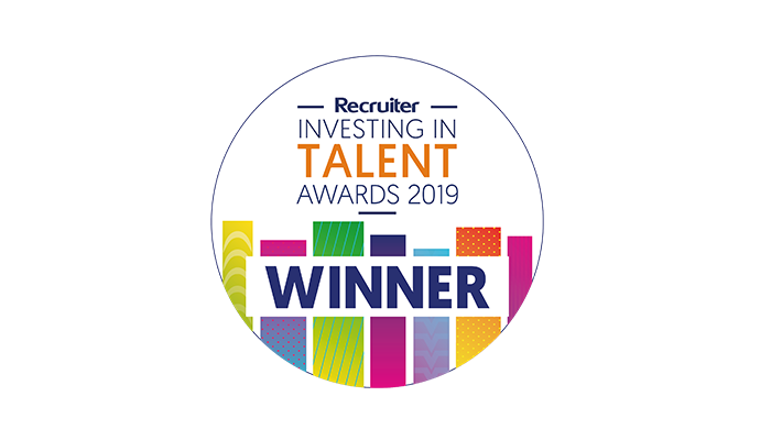 "Investigo wins ""Most Engaging Social Responsibility Programme"" at the Recruiter Investing in Talent Awards"